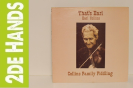 Earl Collins ‎– That's Earl - Collins Family Fiddling (LP) G50