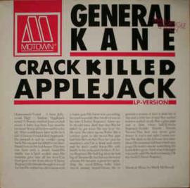 """General Kane – Crack Killed Applejack (12"""" Single) T20"""