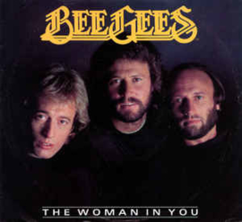 "Bee Gees ‎– The Woman In You (7"" Single) S70"