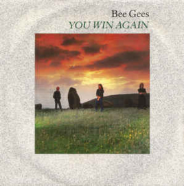 """Bee Gees – You Win Again(7"""" Single) S70"""