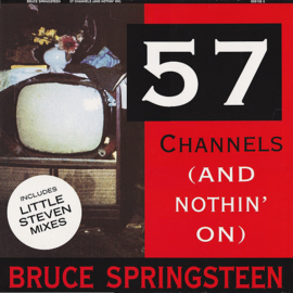"Bruce Springsteen ‎– 57 Channels (And Nothin' On) (12"" Single) T10"