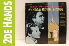Johnny Cash & Jerry Lee Lewis – Sunday Down South (LP) A60