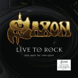 Saxon - Live To Rock: The Best Of 1991-2009 (LP)