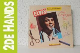 Elvis Presley – Elvis Sings For Children And Grownups Too! (LP) D10