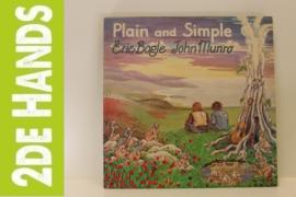 Eric Bogle & John Munro – Plain And Simple (LP) J20