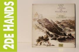 """Liszt - Aldo Ciccolini – Les Années De Pèlerinage - Deuxième Année """"L'Italie"""" (LP) K10"""