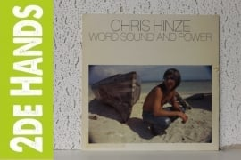 Chris Hinze ‎– Word, Sound And Power (LP) B60