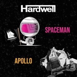 """Hardwell - Apollo/Spaceman (7"""" Single)"""