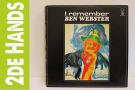 Ben Webster – I Remember (LP) G80