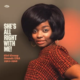 Various - She's All Right With Me - Girl Group Sounds Usa 1961-1968 (LP)