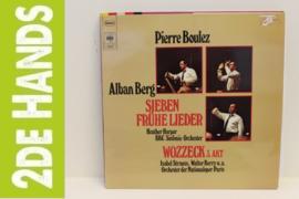 Alban Berg - Pierre Boulez – Sieben Frühe Lieder • Wozzeck 3. Akt  (LP) D10