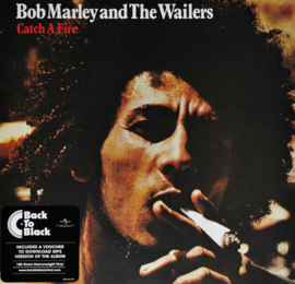Bob Marley And The Wailers ‎– Catch A Fire (LP)