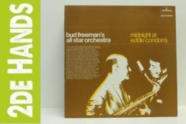 Bud Freeman's All Star Orchestra – Midnight At Eddie Condon's (LP) H20