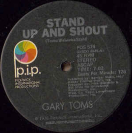 "Gary Toms ‎– Stand Up And Shout (12"" Single) T20"