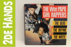 Wee Papa Girl Rappers ‎– The Beat, The Rhyme, The Noise (LP) J50