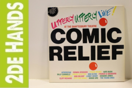 Various ‎– Comic Relief Presents Utterly Utterly Live (LP) F40
