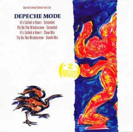 """Depeche Mode – It's Called A Heart / Fly On The Windscreen (2 x 12"""" Single) T30"""