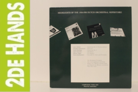 Various ‎– Highlights Of The 1930-1950 Dutch Orchestral Repertoire (2LP) F90