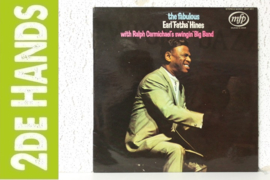 Earl 'Fatha' Hines - With Ralph Carmichael's Swingin' Big Band (LP) A50