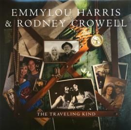 Emmylou Harris & Rodney Crowell - The Traveling Kind (LP)