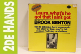 Brook Benton ‎– Laura, What's He Got That I Ain't Got (LP) F80