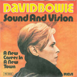 """David Bowie – Sound And Vision (7"""" Single) S90"""