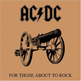 AC/DC ‎– For Those About To Rock (We Salute You) (LP)