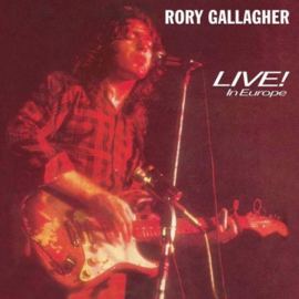 Rory Gallagher ‎– Live In Europe (LP)