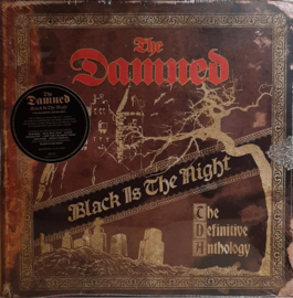 The Damned ‎– Black Is The Night (The Definitive Anthology) (4LP)