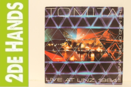 Tomita ‎– Live At Linz, 1984 - The Mind Of The Universe (LP) F90