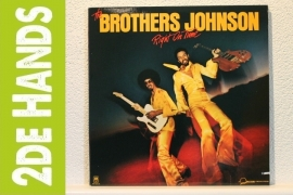Brothers Johnson - Right On Time (LP) E60