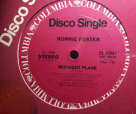 "Ronnie Foster ‎– Midnight Plane (12"" Single) T20"