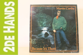 Martin Carthy ‎– Because It's There (LP) F50