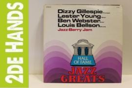 "Dizzy Gillespie, Lester Young, Ben Webster, Louis Bellson – Jazz Berry Jam: ""Jamming Jazz"" (LP) D50"