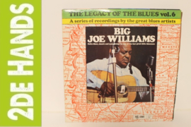 Big Joe Williams ‎– The Legacy Of The Blues Vol. 6 (LP) C60