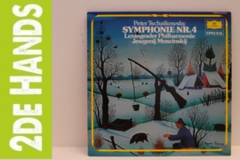 Peter Tschaikowsky, Leningrader Philharmonie, Jewgenij Mrawinskij – Symphonie Nr.4 (LP) H40