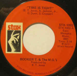 """Booker T. & The M.G.'s – Time Is Tight / Mrs. Robinson (7"""" Single) S90"""