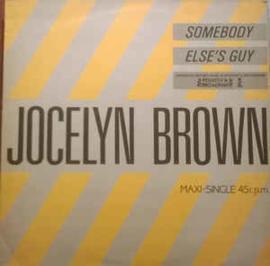 "Jocelyn Brown – Somebody Else's Guy (12"" Single) T30"