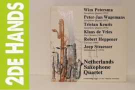 Netherlands Saxophone Quartet - Untitled (LP) C90