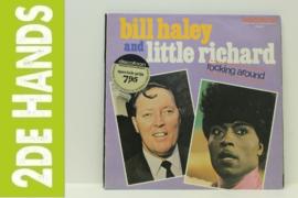 Bill Haley and Little Richard – Rocking Around (LP) H10
