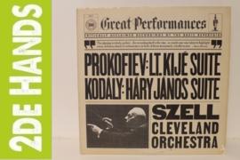 Prokofiev / Kodály / Szell, Cleveland OrchestrA – Lt. Kijé Suite / Háry János Suite (LP) B60