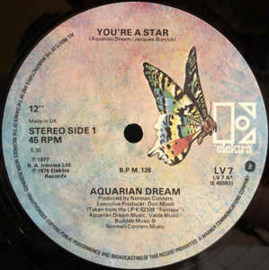 "Aquarian Dream – You're A Star (12"" Single) T30"
