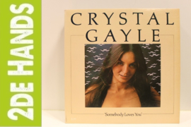 Crystal Gayle ‎– Somebody Loves You (LP) B50
