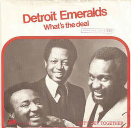 """Detroit Emeralds – What's The Deal (7"""" Single) S90"""