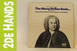 Hans Wurman – The Moog Strikes Bach... (LP) J10