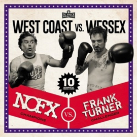 NOFX / Frank Turner - West Coast Vs Wessex (LP)