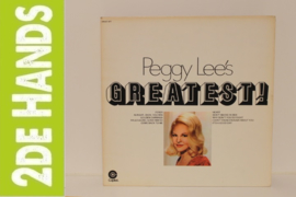 Peggy Lee – Peggy Lee's Greatest! (LP) B80