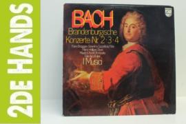 Bach / I Musici – Brandenburgische Konzerte Nr. 2 • 3 • 4 (LP) K70