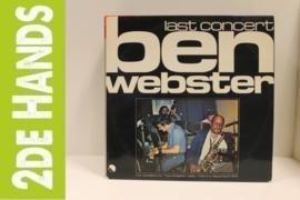 Ben Webster – Last Concert  2(LP) G60