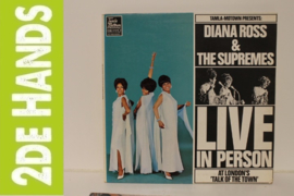 Diana Ross & The Supremes – Live In Person At London's Talk Of The Town (LP) J30